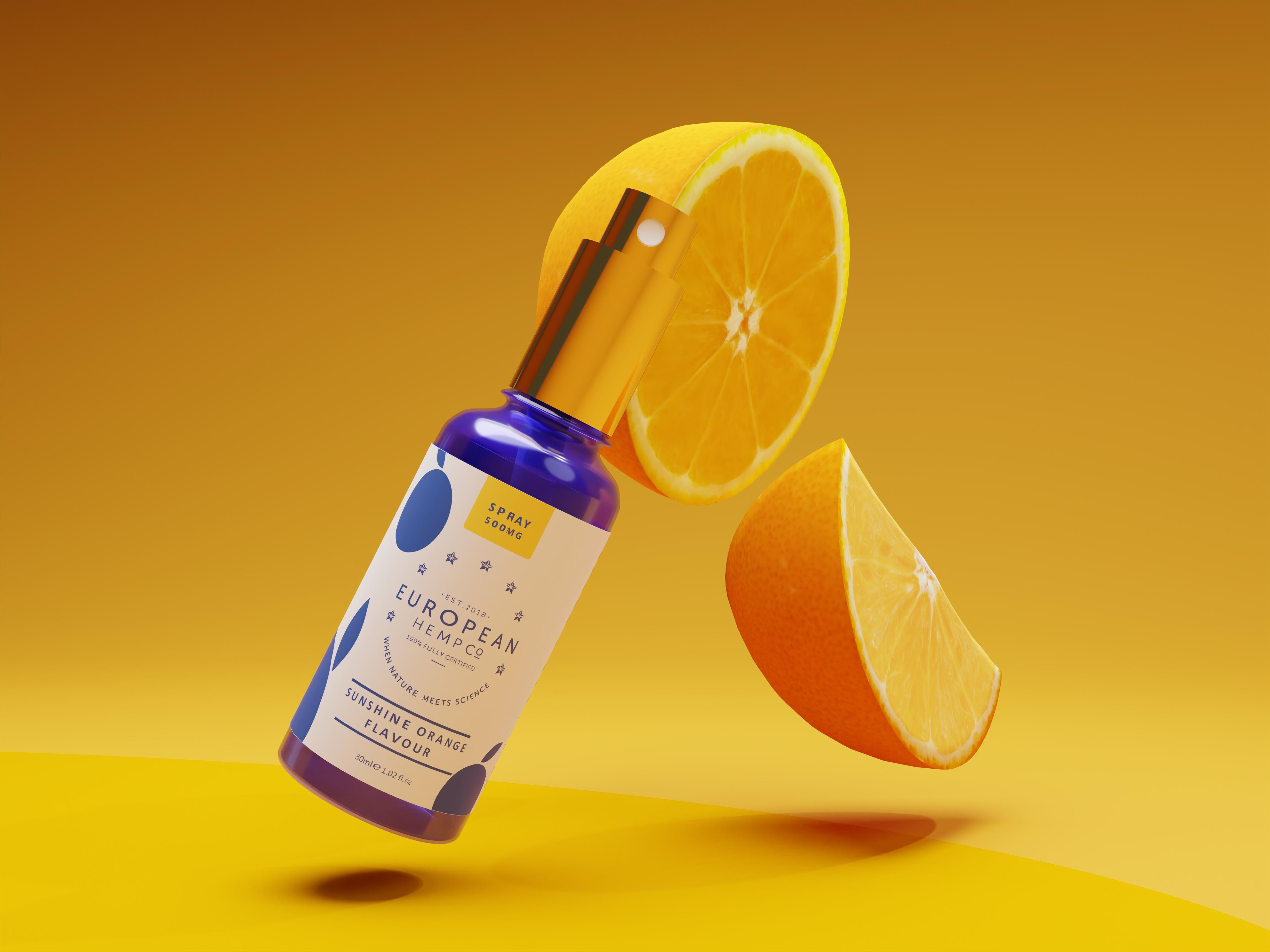 Flavoured CBD Spray Oil